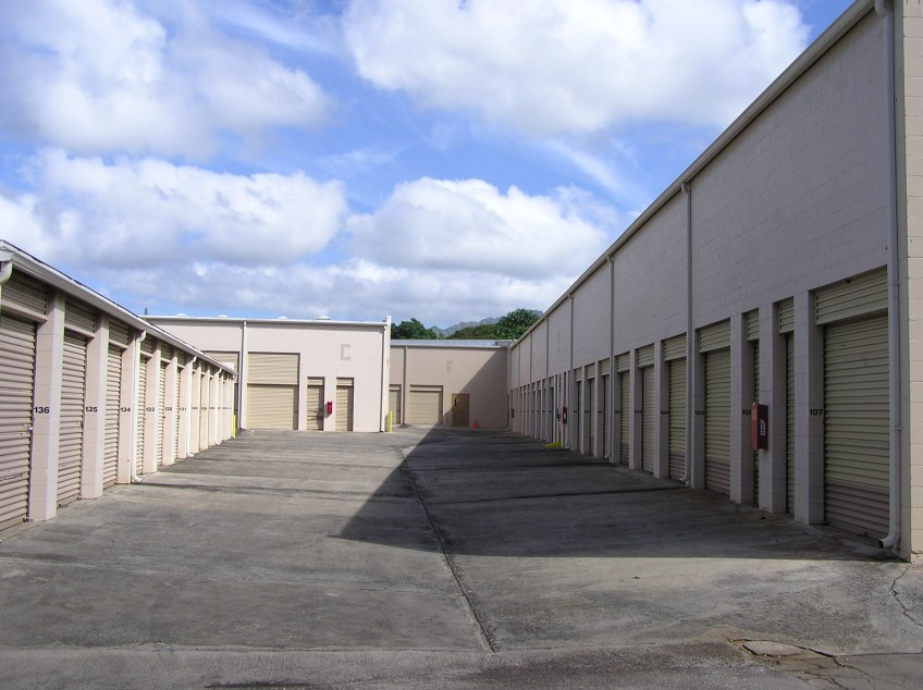Exterior view of Koloa Self Storage