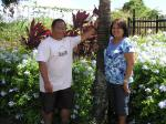 Ted Garma, General Manager and his wife Cora of Koloa Self Storage.